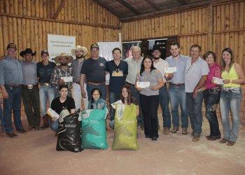 Entrega da premiação foi feita na sede do Núcleo Catarinense de Criadores do Cavalo Quarto de Milha