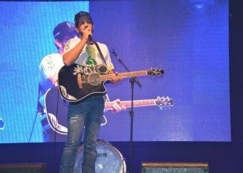 O cantor Sorocaba participou do lançamento da EFAPI 2017 e ao lado de Fernando será a primeira atração da expo-feira.