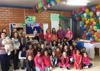 Confraternização foi realizada com os alunos do Serviço de Convivência e Fortalecimento de Vínculos Santo Antônio