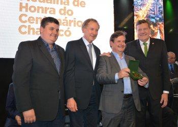 José Claudio Caramori, atual presidente do Badesc, foi prefeito no mandato anterior ao de Luciano Buligon