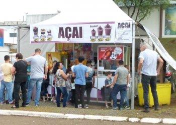 O Açai é uma das novidades para quem procura um refresco no parque